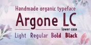 Argone LC font download