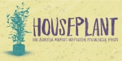 Houseplant font download