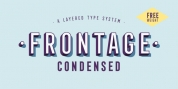 Frontage Condensed font download