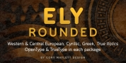 Ely Rounded font download