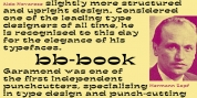 bb-book Contrasted font download