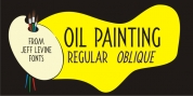 Oil Painting JNL font download