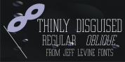 Thinly Disguised JNL font download