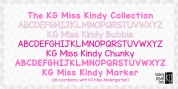 KG Miss Kindy Collection font download