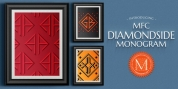 MFC Diamondside Monogram font download
