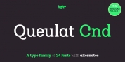 Queulat Condensed font download