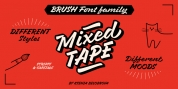 Mixed Tape font download