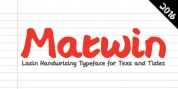 Matwin font download