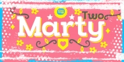 Marty Two font download