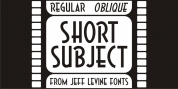 Short Subject JNL font download