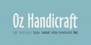 Oz Handicraft BT font download