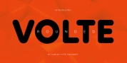 Volte Rounded font download
