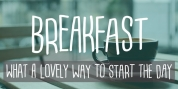 Breakfast font download