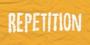 Repetition font download