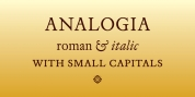 Analogia font download