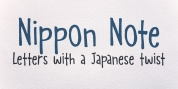 Nippon Note font download