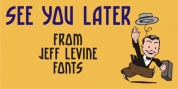 See You Later JNL font download