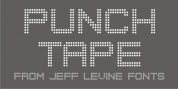 Punch Tape JNL font download