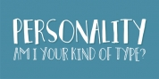 Personality font download