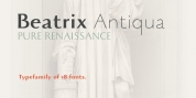 Beatrix Antiqua font download