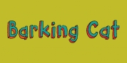 Barking Cat font download