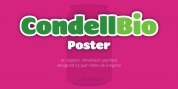 Condell Bio Poster font download