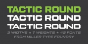 Tactic Round font download
