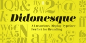 Didonesque font download