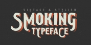 Smoking Typeface font download