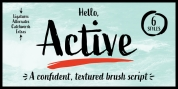 Active font download