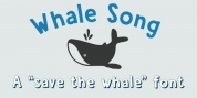 Whale Song font download