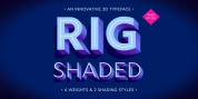 Rig Shaded font download