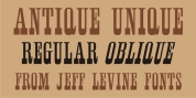 Antique Unique JNL font download