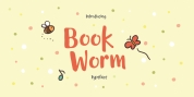 Book Worm font download