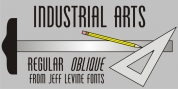 Industrial Arts JNL font download