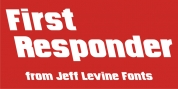 First Responder JNL font download