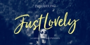 Just Lovely font download