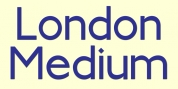 London Medium font download