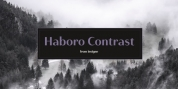 Haboro Contrast font download