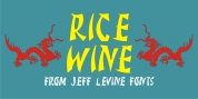 Rice Wine JNL font download
