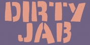 Dirty Jab font download