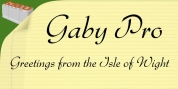 Gaby Pro font download