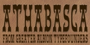 Athabasca font download