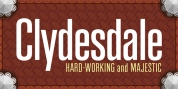 Clydesdale font download