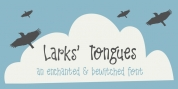 Larks Tongues font download