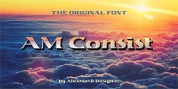 AM Consist font download
