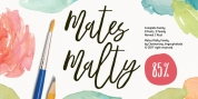 Mates Malty font download