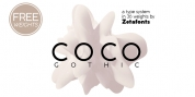 Coco Gothic font download