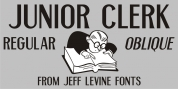 Junior Clerk JNL font download