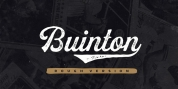 Buinton Rough font download